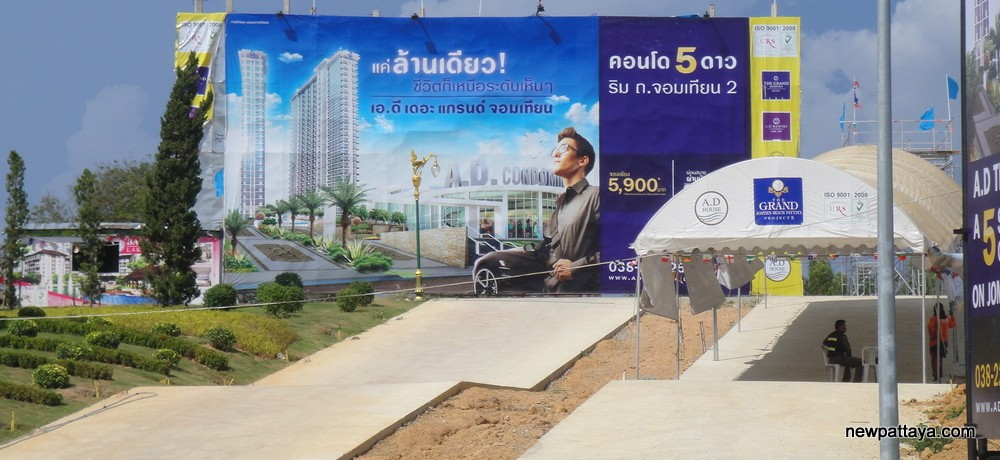 The Grand AD Condominium - newpattaya.com
