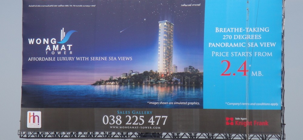 Wong Amat Tower - Designed by Architect Mario Kleff - newpattaya.com