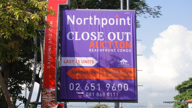 Northpoint Close Out Auction - 8 December 2012 - newpattaya.com