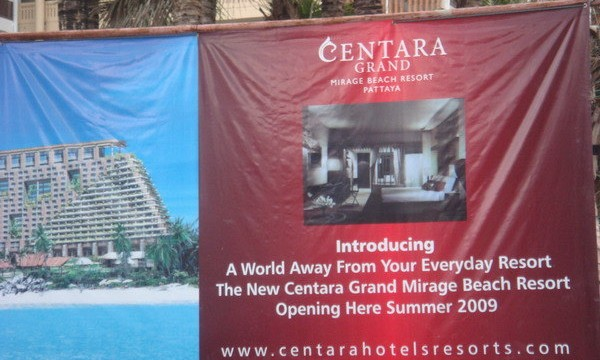 Centara Grand Mirage Construction Site - newpattaya.com