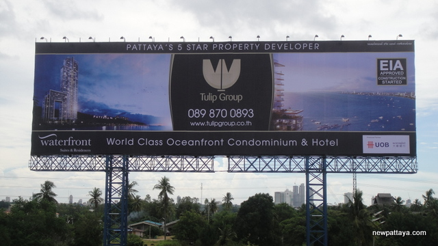 Waterfront Suites & Residences - 12 August 2013 - newpattaya.com
