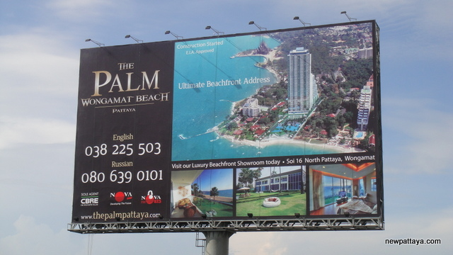 The Palm on Wong Amat Beach - 19 November 2012 - newpattaya.com