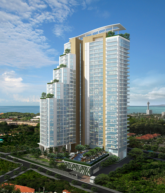 The Peak Towers | Development | Promoting the new Pattaya
