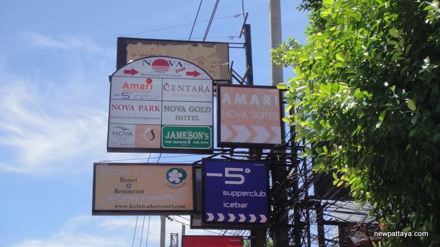 Nova Street Pattaya, Nova Ville Pattaya, Nova Village Pattaya - 29 June 2012