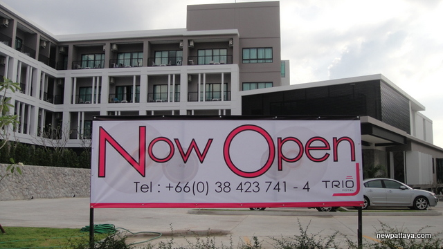 Trio Hotel - Hotel J Pattaya Second Phase - 30 December 2012 - newpattaya.com