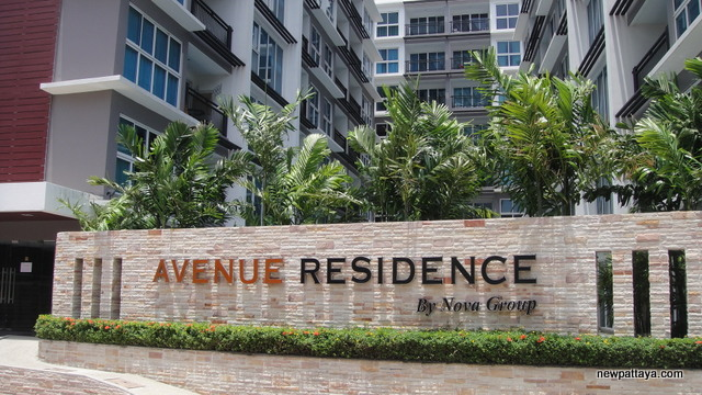 The Avenue Residence - 24 May 2012 - newpattaya.com