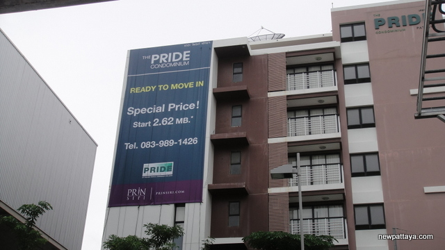 The Pride Condominium - 20 November 2012 - newpattaya.com