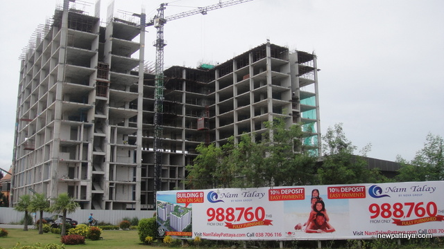 Nam Talay Condominium - 9 August 2013 - newpattaya.com