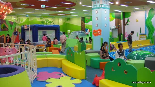 New kids zone at Mega Bangna
