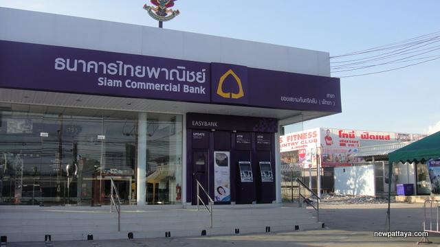 Siam Commercial Bank Soi Siam - 9 November 2012 - newpattaya.com