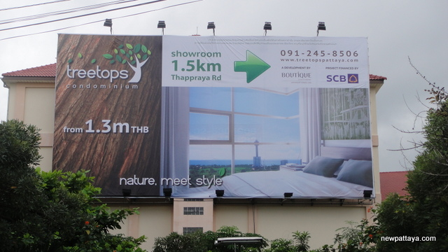 Treetops Condominium Pattaya - 28 November 2012 - newpattaya.com
