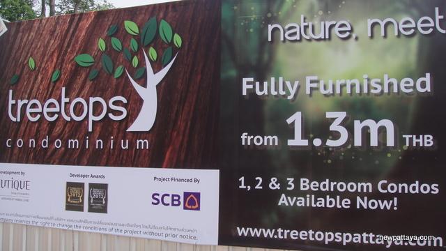 Treetops Condominium Pattaya - 1 December 2012 - newpattaya.com