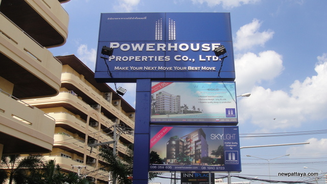 Powerhouse Properties Jomtien Second Road - 15 December 2012 - newpattaya.com