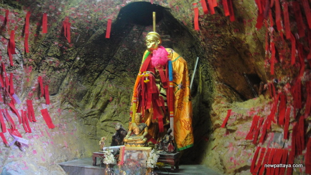 A shrine dedicated to the famous monkey that accompanied Hsuan Tsang