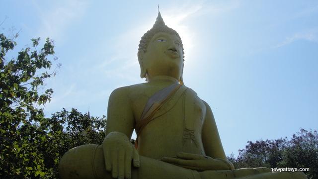 Big yellow Buddha