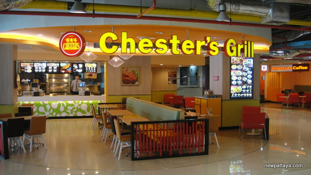 Chester's Grill at Watergate Pavillion Shopping Complex - 4 January 2013