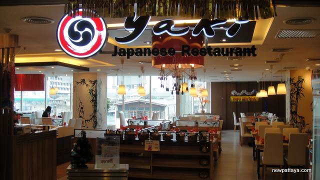 Yaki Japanese Restaurant at Watergate Pavillion Shopping Complex - 4 January 2013
