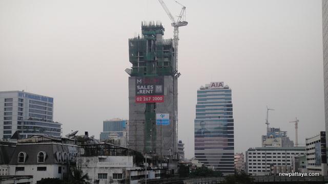 M Silom Condominium - 16 January 2013 - newpattaya.com