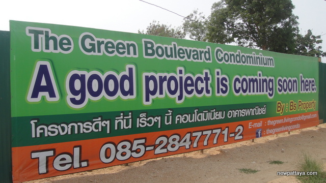 The Green Living Boulevard - 21 February 2013 - newpattaya.com