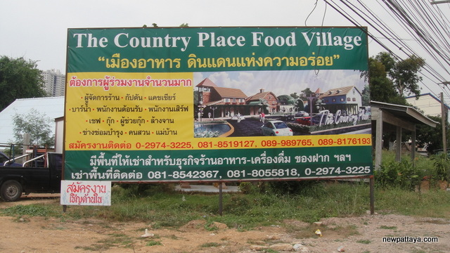 The Country Place Food Village Pattaya - 5 March 2013 - newpattaya.com