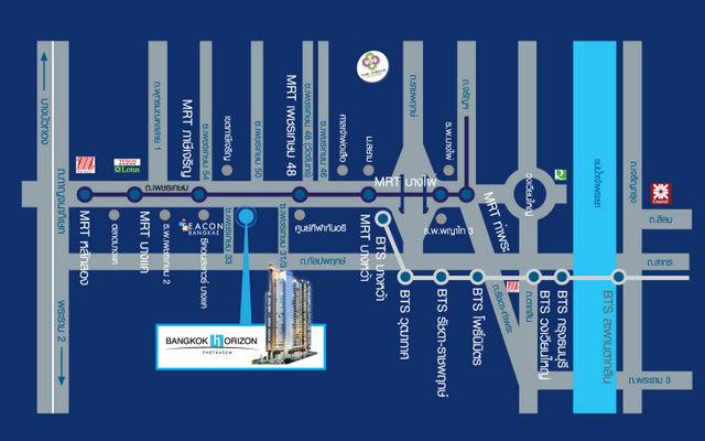 Map MRT Blue Line Extension