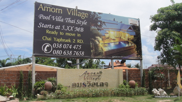Amorn Village Pattaya - 26 April 2013 - newpattaya.com
