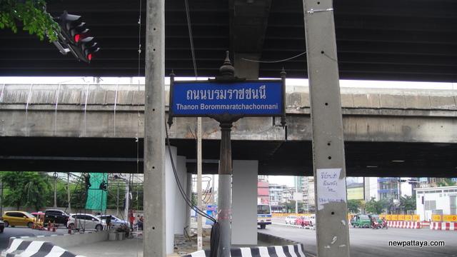 Borommaratchachonnani Road - 28 April 2013 - newpattaya.com
