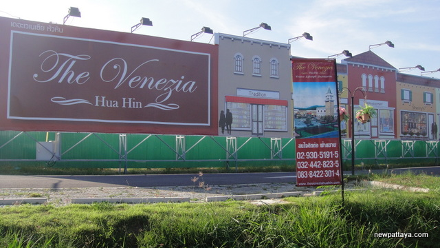 The Venezia Hua Hin Lifestyle Mall - October 2012 - newpattaya.com