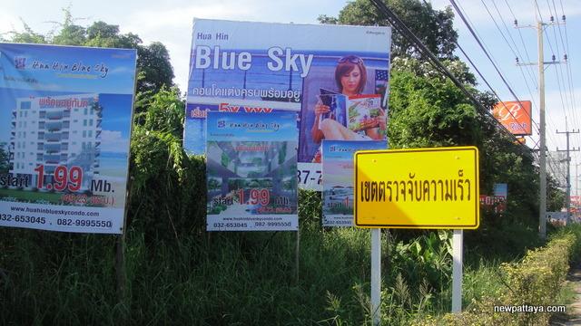 Hua Hin Blue Sky Condominium - October 2012 - newpattaya.com