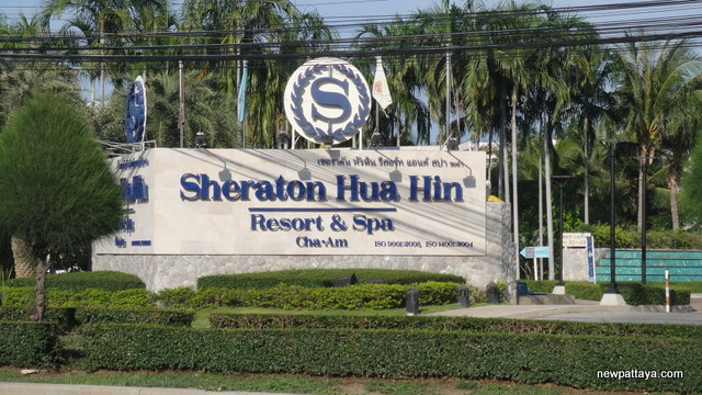 Sheraton Hua Hin - Resort & Spa - October 2012 - newpattaya.com