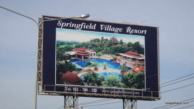 Springfield Village Resort - October 2012 - newpattaya.com