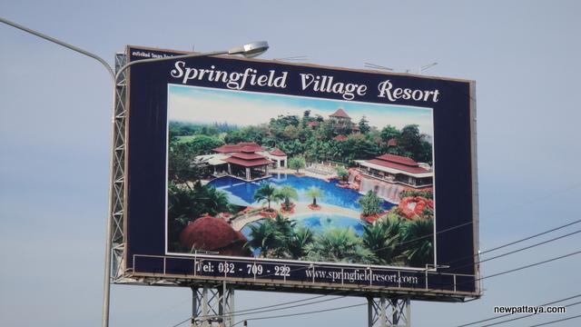 Springfield Village Resort - October 2012 - newpattaya.com