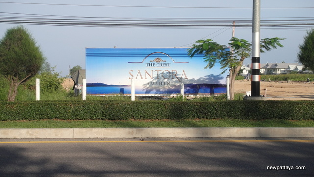 The Crest Santora Hua Hin - October 2012 - newpattaya.com