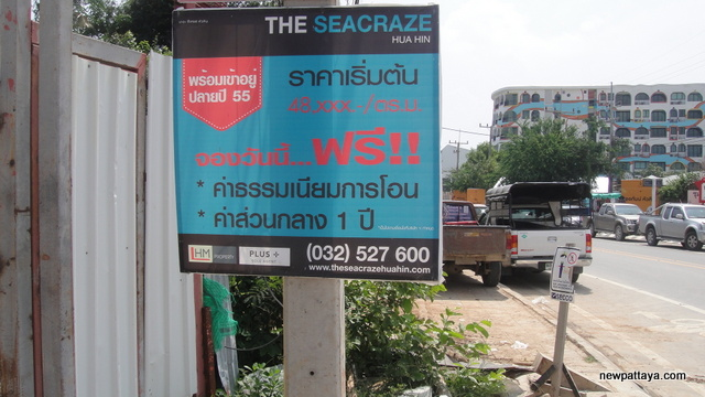 The Seacraze Hua Hin - October 2012 - newpattaya.com