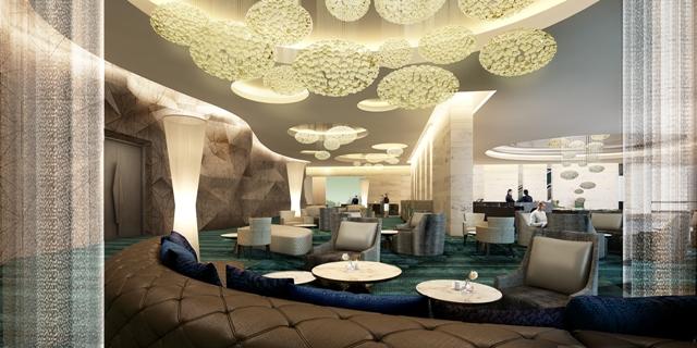 Bar area at Centara Grand Resort and Spa Na Jomtien