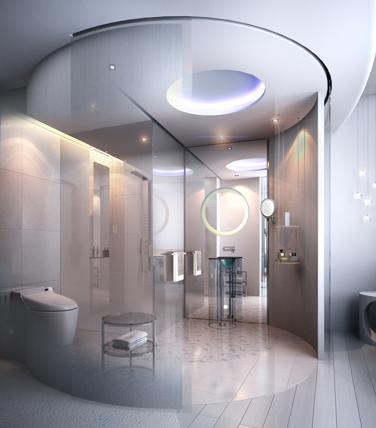 Bathroom at Centara Grand Resort and Spa Na Jomtien