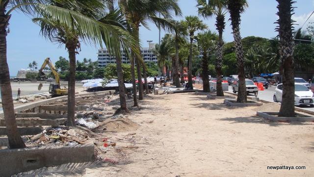Pattaya Beach Restoration - 10 May 2013 - newpattaya.com