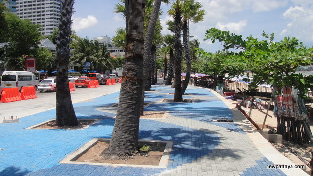 New beach promenade in Pattaya - 10 May 2013 - newpattaya.com