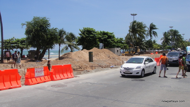 Pattaya Beach Restoration - 10 May 2013 - newpattaya.com