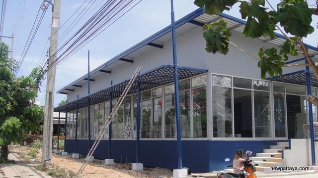 The sales office at Supalai Mare @ Pattaya - 24 May 2013 - newpattaya.com