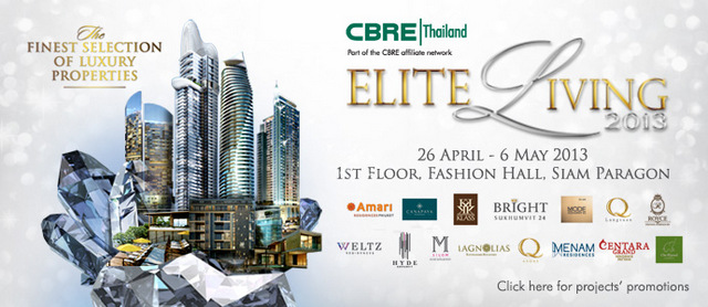 CBRE Thailand Elite Living 2013
