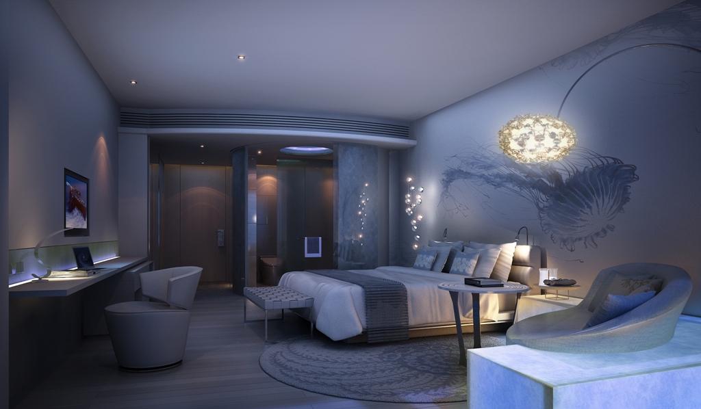 Hotel room at Centara Grand Resort and Spa Na Jomtien