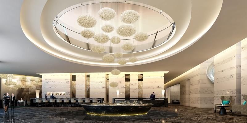 Lobby at Centara Grand Resort and Spa Na Jomtien