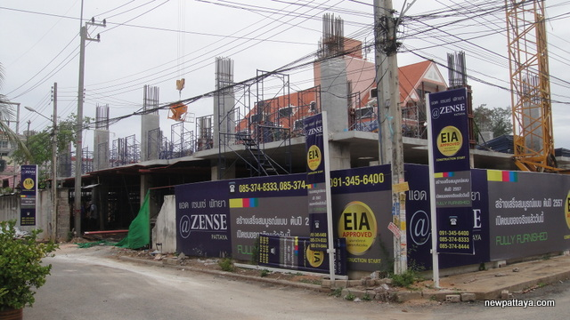 @Zense Condominium Pattaya October 2012 - 17 June 2013 - newpattaya.com