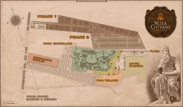Nusa Chivani Masterplan