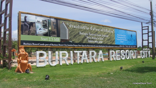 Buritara City Resort Condo Jomtien - 7 August 2013 - newpattaya.com