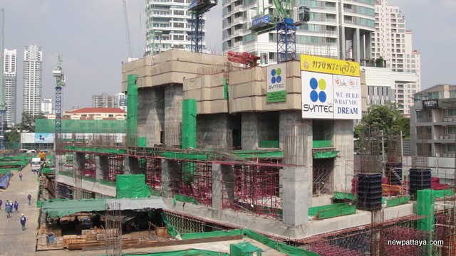 EmQuartier Shopping Mall and Bhiraj Tower - 2 December 2012 - newpattaya.com