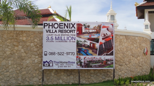Phoenix Villa Resort - 5 September 2013 - newpattaya.com