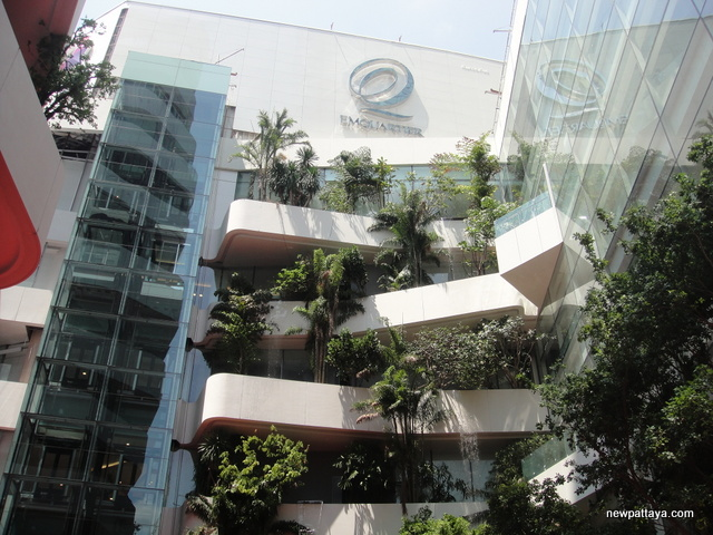 EmQuartier Shopping Mall and Bhiraj Tower - 30 March 2015 - newpattaya.com