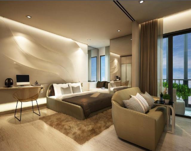 Ideo Q Ratchathewi Bedroom